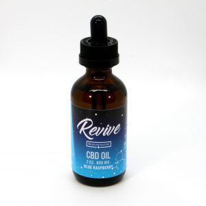 Revie CBD Hemp Oil 800MG Blue Raspberry