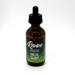 Revie CBD Hemp Oil 1500MG Peppermint